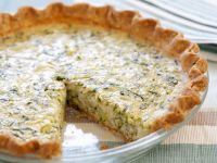 Zucchini and Egg Custard Tart recipe