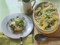 Zucchini and Gluten-free Pasta Gratin