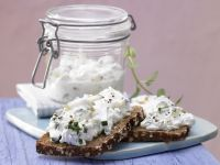 Zucchini and Herb Cheese Spread recipe