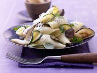 Zucchini and Mushroom Pasta recipe