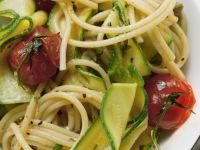 Zucchini and Tomato Pasta recipe