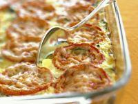Zucchini and Vine Ripened Tomato Bake recipe
