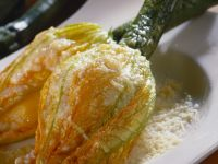 Zucchini Blossoms with Ricotta Filling recipe