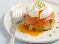 Zucchini Cake and Egg Brunch recipe