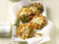 Zucchini, Carrot, and Potato Cakes recipe