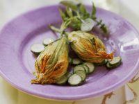 Zucchini Flowers with Ricotta Filling recipe