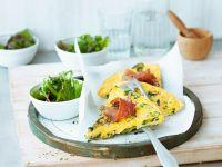 Prosciutto and Summer Squash Frittata recipe