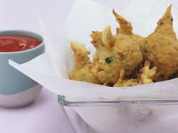 Zucchini Fritters with Herbs recipe