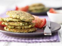 Zucchini-Rice Fritters recipe