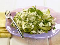 Zucchini Salad with Feta Cheese recipe
