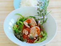 Zucchini Strips with Tuna recipe