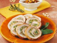 Zucchini-stuffed Roast Pork Loin recipe