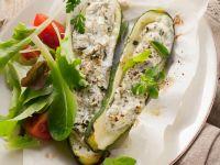 Zucchini Stuffed with Cheese recipe