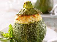 Zucchini Stuffed with Ricotta recipe