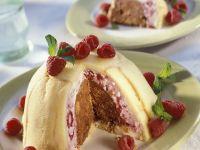 Zuccotto with Raspberries recipe
