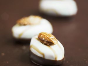 Almond Chocolate Pralines recipe
