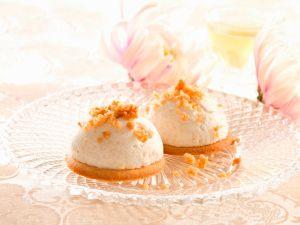 Almond Cookies  Mascarpone Mousse recipe