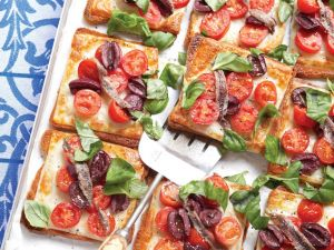 Anchovy and Tomato Toast recipe