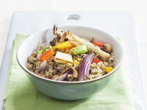 Ancient Grain Veggie Bowl recipe