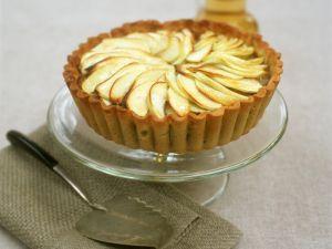 Apple and Custard Flan recipe