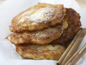Apple Fritters with Cinnamon Sugar recipe