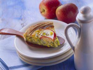 Apple Leek Quiche recipe