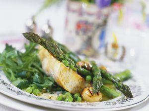 Arugula and Asparagus with Ciabatta recipe