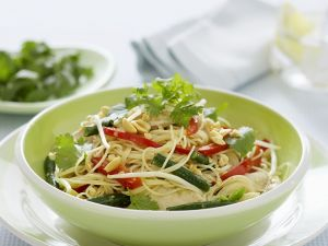 Asian Noodles with Vegetables recipe