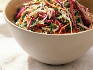 Asian Shredded Vegetable Salad recipe