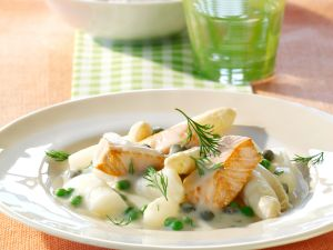 Asparagus and Salmon Ragout recipe
