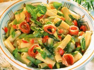 Asparagus and Sesame Pasta Salad recipe