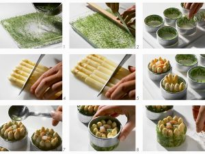 Asparagus and Shrimp Aspic recipe