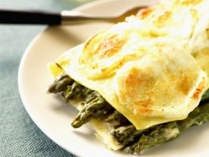 Green Spear Pasta Bake recipe