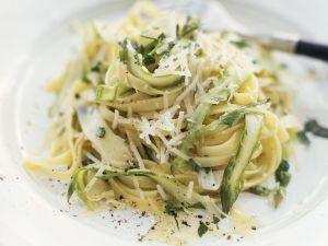 Asparagus Tagliatelle recipe