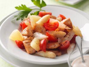 Asparagus, Turkey and Tomato Salad recipe