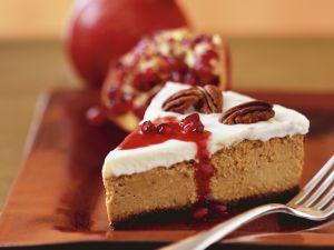 Autumnal Gateau Slice with Nuts recipe
