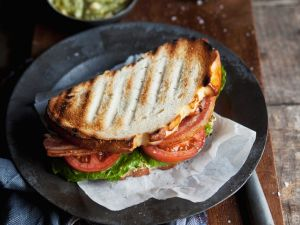Bacon, Lettuce and Tomato Sandwiches recipe
