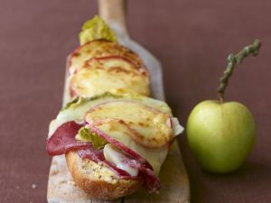 Baguette with Raclette Cheese recipe