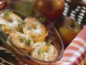 Baked Apples with Goat Cheese recipe
