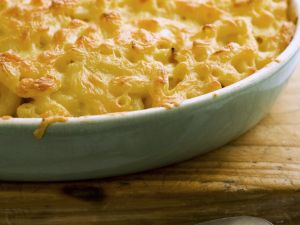 Baked Cheesy Pasta Dish recipe