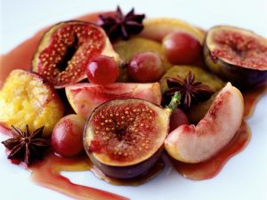 Baked Figs and Pears recipe