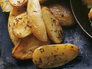 Baked Potatoes with Caraway Seeds recipe