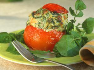 Baked, Stuffed Tomatoes recipe