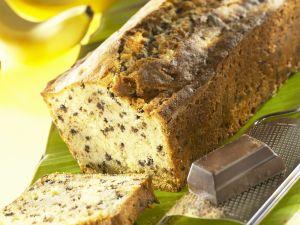 Banana and Chocolate Loaf Cake recipe