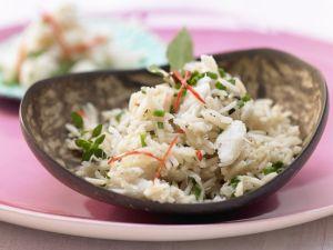 Basmati Rice with Crab Meat recipe