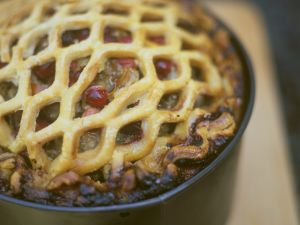 Beef and Berry Pastry Pie recipe