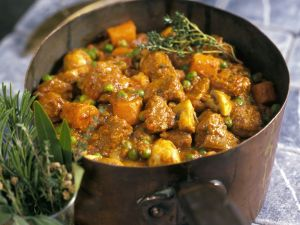 Beef and Pea Stew recipe