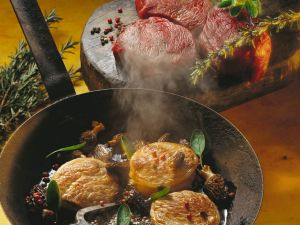 Beef Fillets with Mushrooms recipe