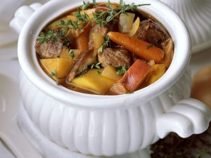 Beef Stew with Sweet Potatoes recipe