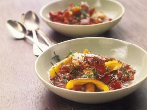 Bell Peppers with Tomatoes recipe